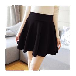 Chân váy xòe đen ngắn xinh xắn giá rẻ