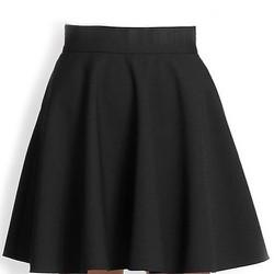 Chân váy xòe đen ngắn hàng chất đẹp