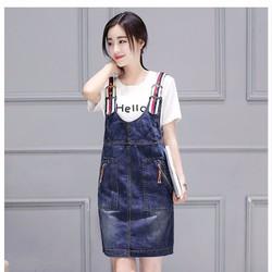 váy jean yếm cao câp  TB0322