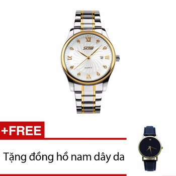 Đồng hồ cao cấp nam Skmei SK063 Sang Trọng +01 Đh NAM DÂY DA