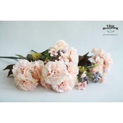 Cành hoa cẩm chướng Vintage