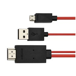 Cáp chuyển tín hiệu từ điện thoại lên tivi HDMI MHL 11 Pin-TM shop