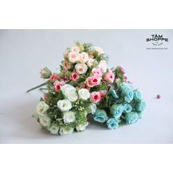Cành hoa Vintage hoa hồng No.3