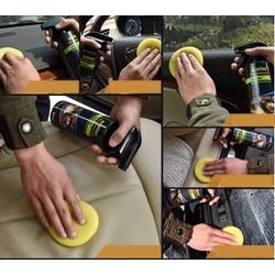 Dung dịch vệ sinh nội thất da trên ô tô