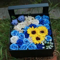 Hoa hồng sáp thơm gift-set