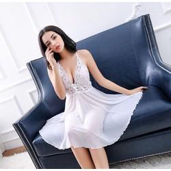 Đầm ngủ thun lưới quyến rũ chất siêu đẹp hàng xuất khẩu - D685