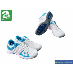 Giày tennis nữ màu trắng xanh GTT102