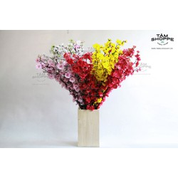 Cành hoa mai hoa đào trang trí Tết