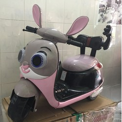Xe ba bánh điện con thỏ
