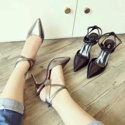 giày cao gót mũi nhọn quai kiểu 1399