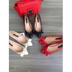 Giày cao gót bông đẹp