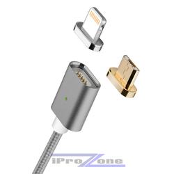Cáp sạc từ Moizen 2 đầu M3 cho Iphone và androi
