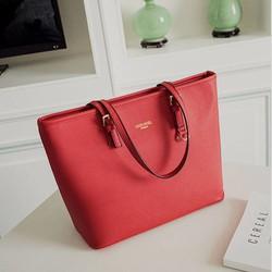 Túi đeo vai nữ -túi thời trang tote ED16 - màu đỏ