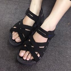 sale off - Giày sandals quai chéo SDQN42