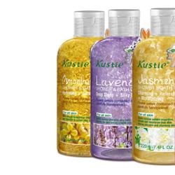 Gel tắm Kustie 500 ml hoa khô tự nhiên
