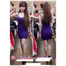 Đầm ôm body đan hông Xumi