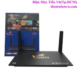 Android TV Box VinaBox X9 Ram 2GB WIFI Mạnh, Đen