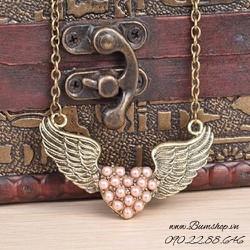 dây chuyền cánh thiên thần xinh xắn