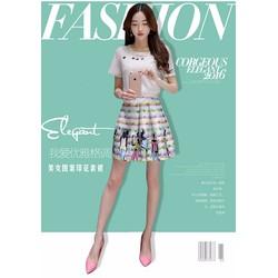 Sét Áo Và Chân Váy Fashion