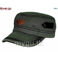 Nón thời trang ARMANII M555 - Màu xám
