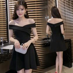 Đầm xòe trễ vai quyến rũ tôn lên vẻ đẹp của các nàng 107