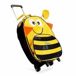 Vali kéo vải dù ong vàng Friso cho bé du lịch cùng gia đình V474