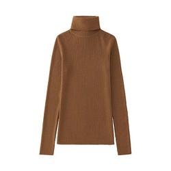 Áo len tăm cổ lọ nữ màu 32 Beige - hàng nhập Nhật