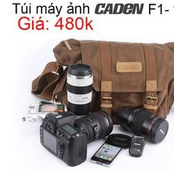 Túi máy ảnh Caden F1- vải bố