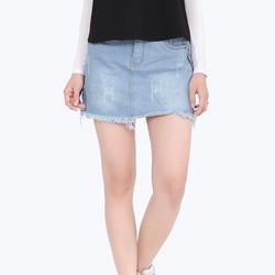 Chân váy jean nữ xinh xắn 315239
