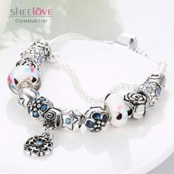 vòng tay nữ hạt charm thời trang phong thuỷ sành điệu PDRH050-A