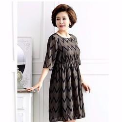 Đầm lụa DM263 - size M~3XL HÀNG NHẬP