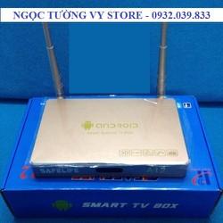BOX SMART TIVI ANDROID A12 - RAM 1G ROM 8G CHẠY CHƯƠNG TRÌNH ĐA NHIỆM