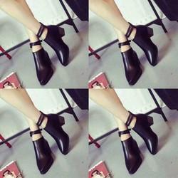 giày boots cao gót cao cấp