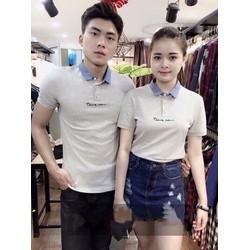 ÁO THUN COUPLE HÀN QUỐC 2017