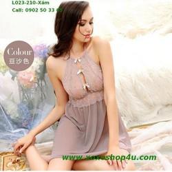 Váy ngủ vải xịn kiểu đẹp giá rẻ