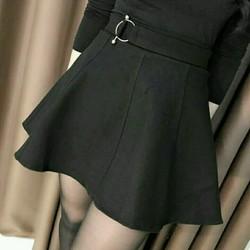 Chân váy dạ xòe