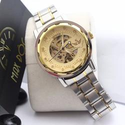 Đồng hồ cơ nam dây thép không gỉ SEWOR SE3001