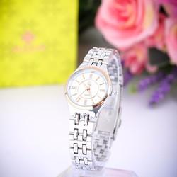 Đồng hồ nữ dây thép không gỉ Mortima GE113