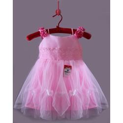 Đầm công chúa đính bông