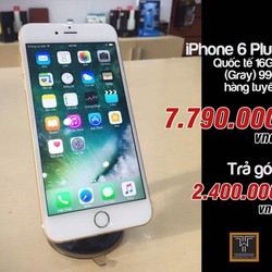 iphone 6plus 16gb gray quốc tế