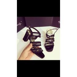giày sandal nữ 3 quai đá