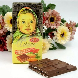 CHOCOLATE CÔ BÉ ALIONKA 100GR