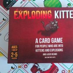 BOARD GAME MÈO NỔ BẢN 16+ EXPLODING KITTEN- VIỆT HÓA