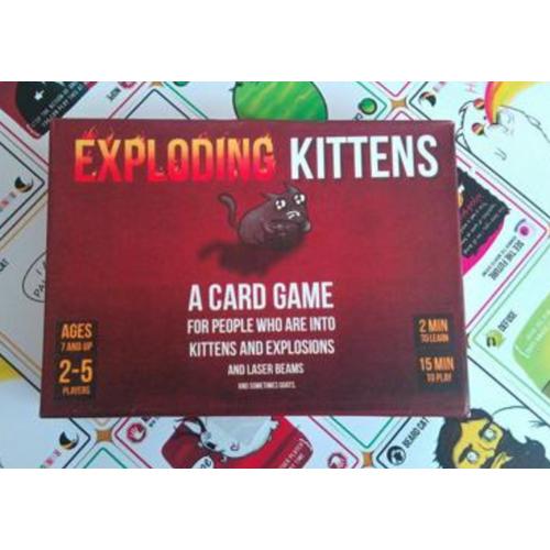 BOARD GAME MÈO NỔ BẢN 7+ EXPLODING KITTEN