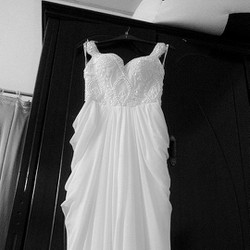 Đầm trắng dạ hội cưới