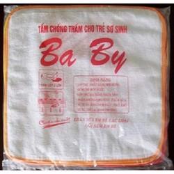 Combo 10 Tấm Lót Cotton Baby  30x30