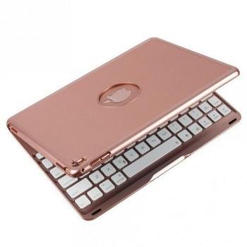 Bàn phím ốp lưng iPad Pro 9.7 vàng hồng Bluetooth