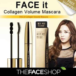 MASCARA DÀY DÀI MI THEFACESHOP FACE IT COLLAGEN VOLUME