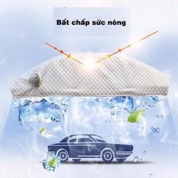 Bạt che ô tô  5D có bông chống nóng-  cách nhiệt cao cấp