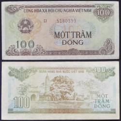 tiền mừng tuổi 100 đồng